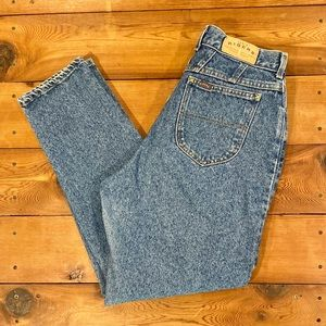 90s Vintage Riders High Waisted Mom Jeans